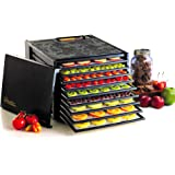 Excalibur 3900B 9-Tray Electric Food Dehydrator with Adjustable Thermostat Accurate Temperature Control Faster and Efficient