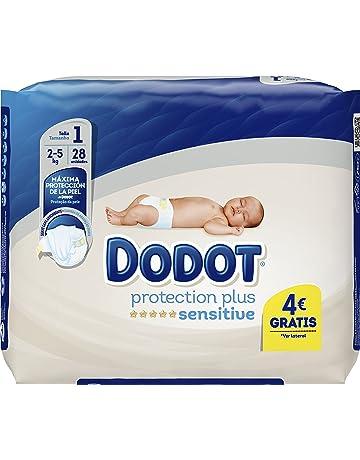 Dodot Protection Plus Sensitive Pañales Talla 1-28 Unidades