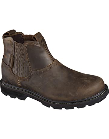 be28ab33d4a Skechers Men's Blaine Orsen Ankle Boot