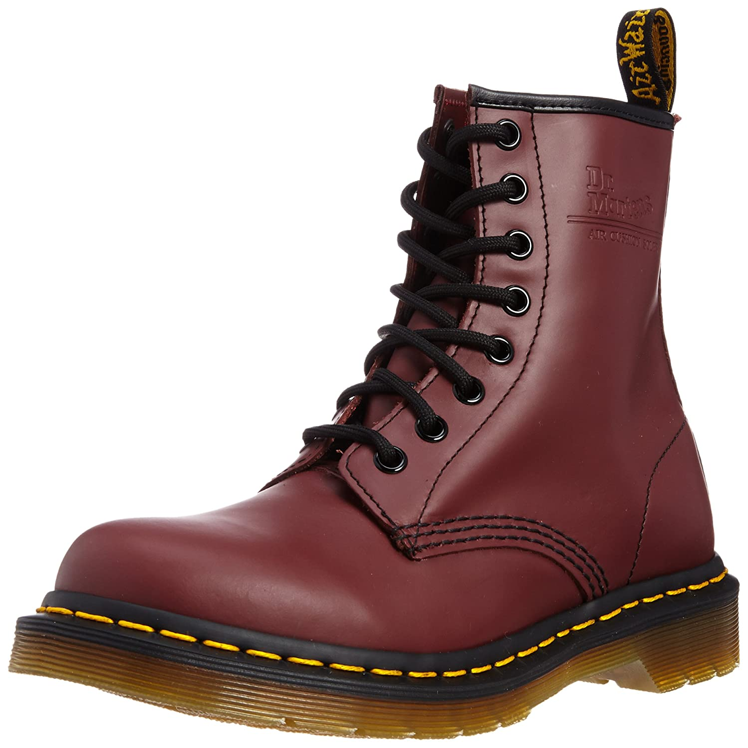 Cherry Dr. Martens 1460 Originals Eight-Eye Lace-Up Boot
