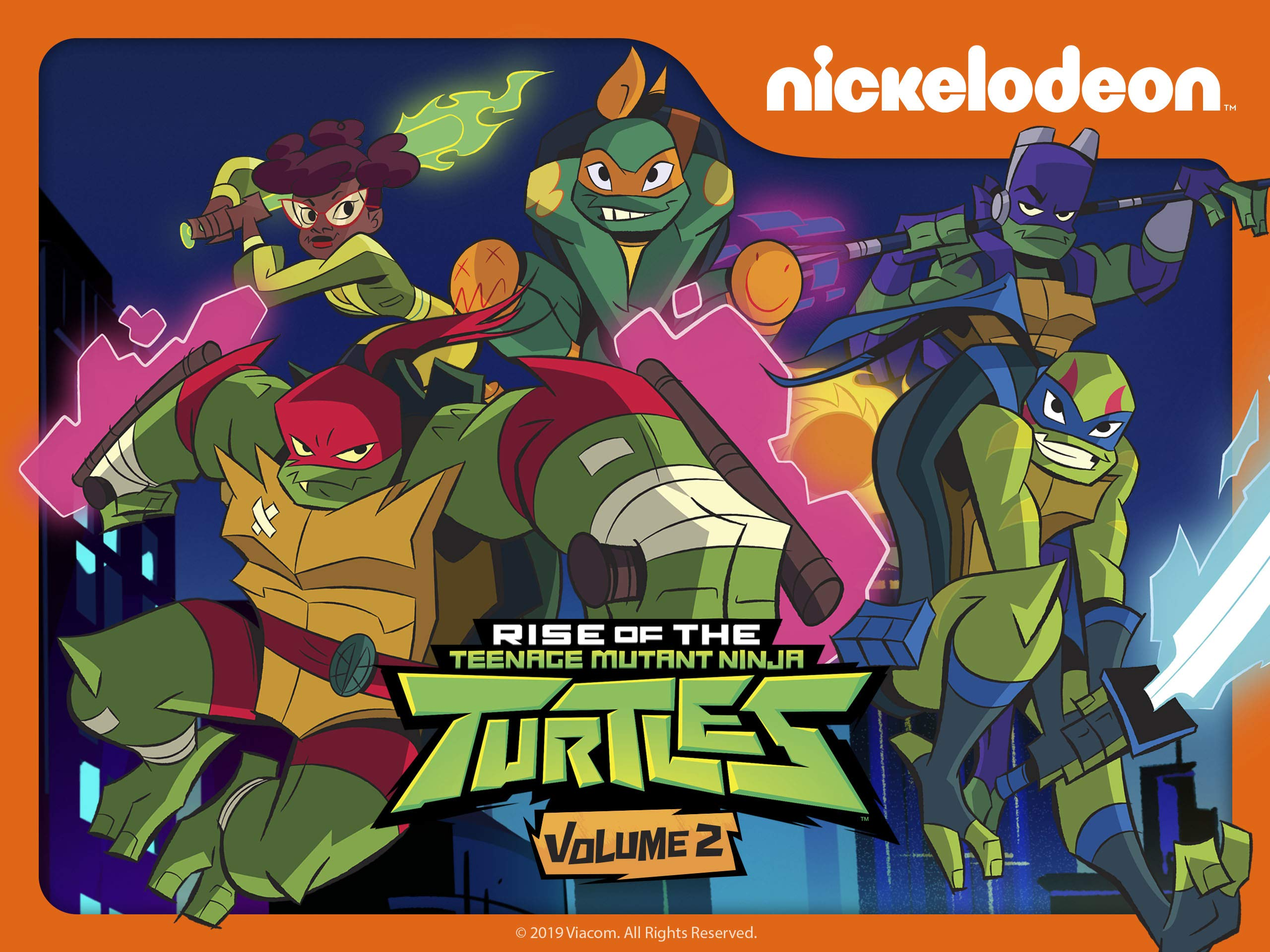 Watch Rise of the Teenage Mutant Ninja Turtles Season 2 ...