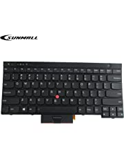 SUNMALL New Laptop Keyboard Replacement with Pointer(no Backlit) Compatible with Lenovo IBM ThinkPad T430 T430S T430I X230 X230T X230I T530 W530 (Not Fit T430U X230S)