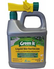 Green it 817504002726 Liquid Bio-Herbicide Corn Gluten Weed Preventer