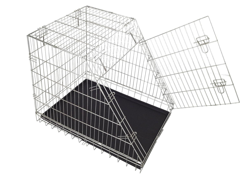 CROCI Zinc Coated Dog Box, 92 x 63 x 72 cm