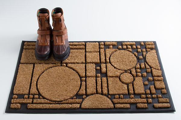 Coonley Playhouse Doormat, Carpet, Furniture, Home Furnishings, Home - The Museum Shop of The Art Institute of Chicago