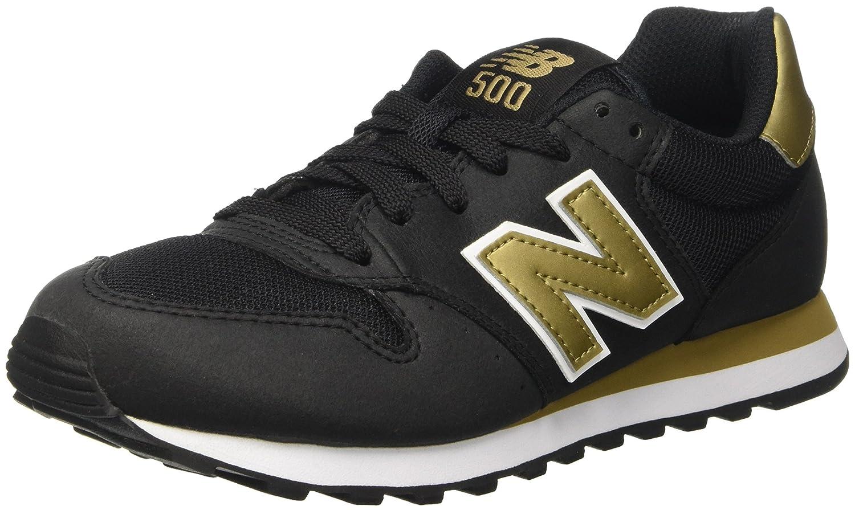 New Balance Gw500kg - Zapatillas Mujer 37.5 EU|Multicolor (Black/Gold)