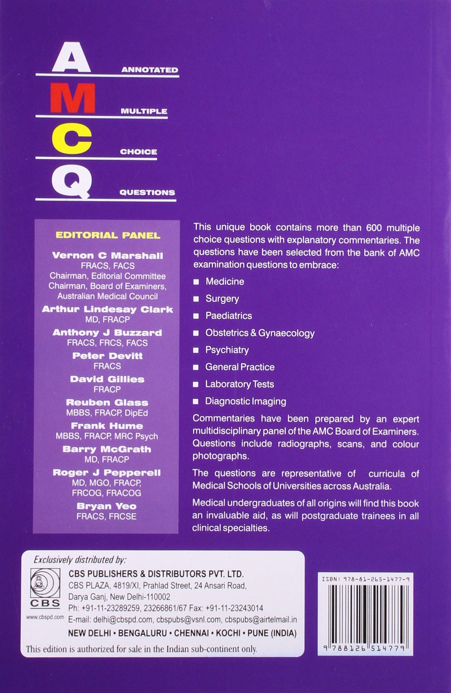 Choice multiple handbook amc questions pdf of