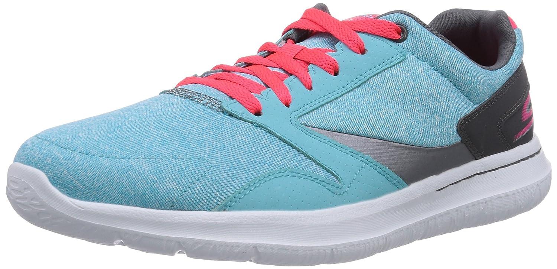 Skechers Go Walk City City City Uptown Damen Sneakers Blau (Aqua) bdaddb