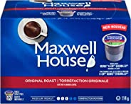 Maxwell House Original Roast Coffee Keurig K-Cup Pods, 72 Count (6 Boxes of 12 Pods)