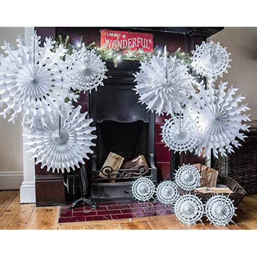Paper Christmas Decorations: Amazon.co.uk