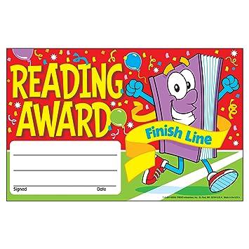 reading awards  Amazon.com : Trend Enterprises Recognition Awards, Reading Award ...