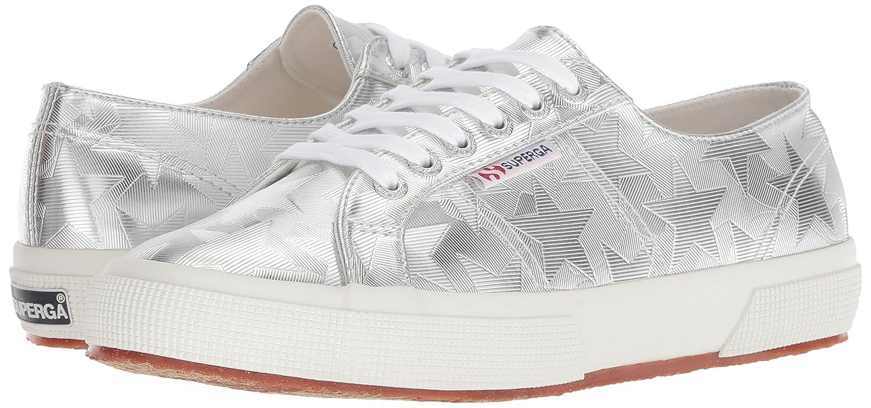 Superga B078KDT3SN Women's 2750 Starchromw Sneaker B078KDT3SN Superga 41 M US|Silver 6929e5