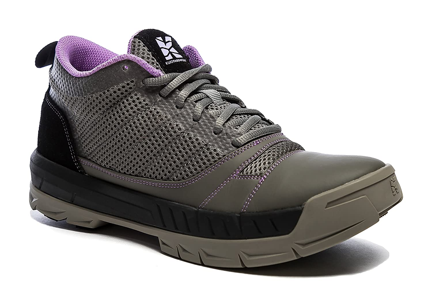 Kujo Yardwear Lightweight Breathable Yard Work Shoe B0793VKHKK 8.5 B(M) Women / 7 D(M) US Men|Grey / Purple