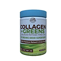 Country Farms Collagen + Greens Dietary Supplement, Energizing Superfoods, 10.6...