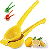 Zulay Premium Quality Metal Lemon Squeezer, Citrus Juicer, Manual Press for Extracting the Most Juice Possible