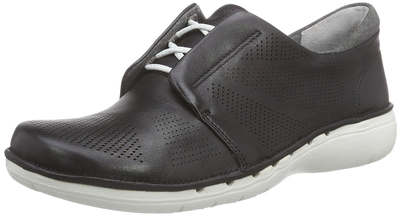 Clarks Un Voltra - Zapatillas para Mujer 36 EU|Black Leather