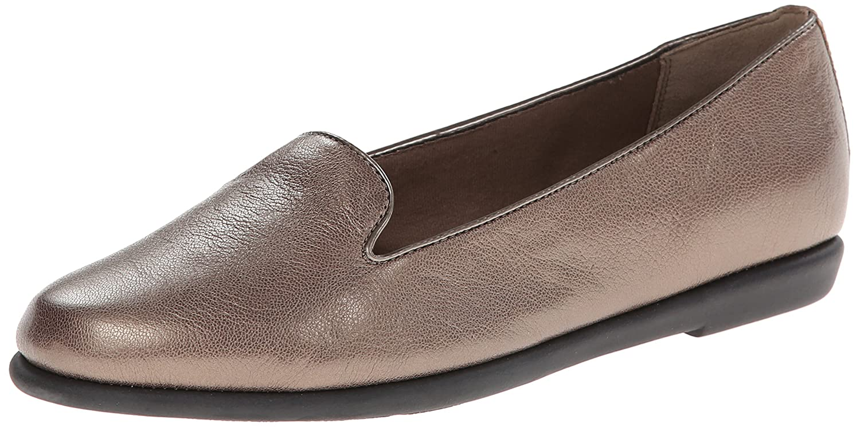 CLARKS Women's Greely Harper Flat B00I69PROQ 8 B(M) US|Grey Leather