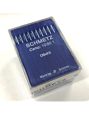 100 Schmetz DBXK5 Commercial Embroidery Machine Needles F/ Tajima, SWF, Melco