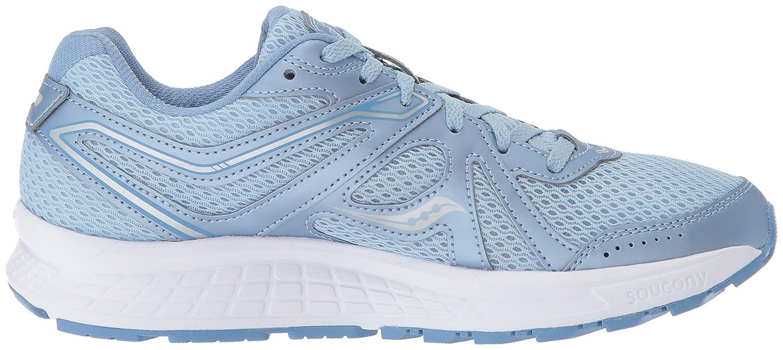 Saucony Women's Cohesion 11 Running Shoe B071G1HKVH 12 B(M) US Fog/Blue