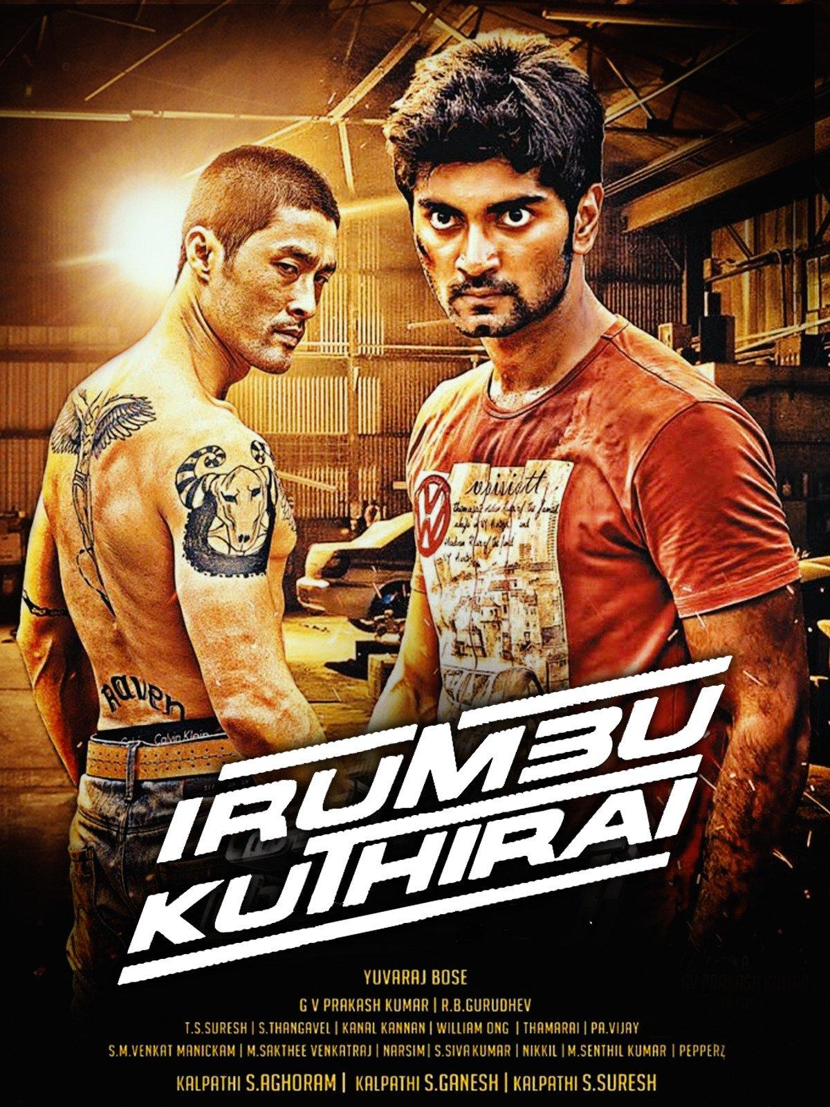 Dhoom Machale (Irumbu Kuthirai) (2021) South Hindi Dubbed 720p  HDRip 550MB Download
