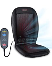SNAILAX Cooling Car Seat Cushion - Heated Seat Cushion with 2 Levels 2 Heating Pads,Car Seat Cooler with 3 Car Fan Speeds, Car Seat Cooling Pad, 12V Automotive Air Conditioned Seat Cover