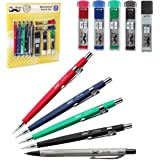 Mr. Pen Mechanical Pencil Set with Lead and Eraser Refills, 5 Sizes - 0.3, 0.5, 0.7, 0.9 and 2 Millimeters, Drafting, Sketchi