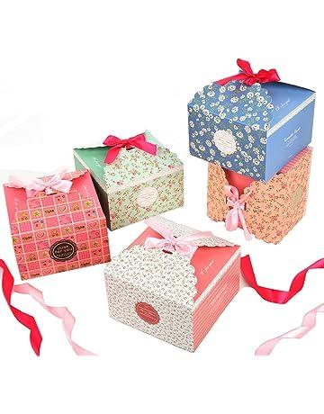 Fashionbabies Cajas de Regalo, Conjunto de 15 Cajas de convites Decorativos para Navidad, acción