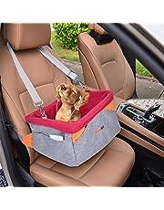 Legendog Autositz Hund, Transportbox für Hunde | Wasserdichter Autositzbezug für Hunde | mit Kissen und verstellbarem Gurt | Welpen Katzen | 41 * 32 * 21 cm