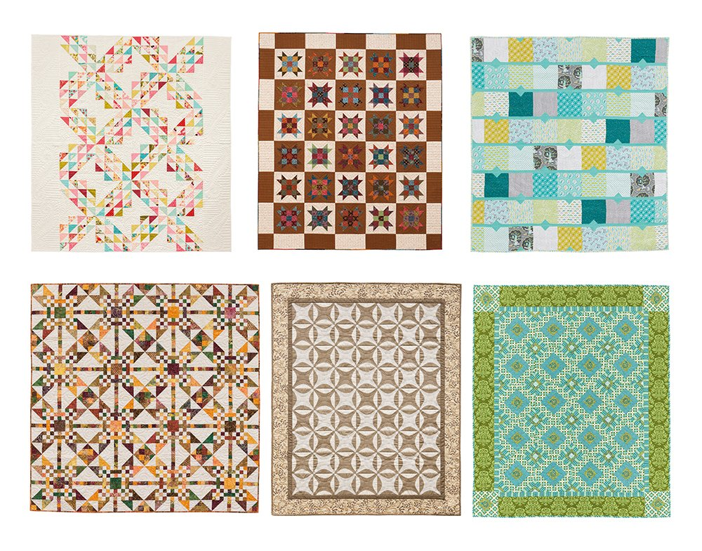 Wonky One-Block Quilts Patterns Book