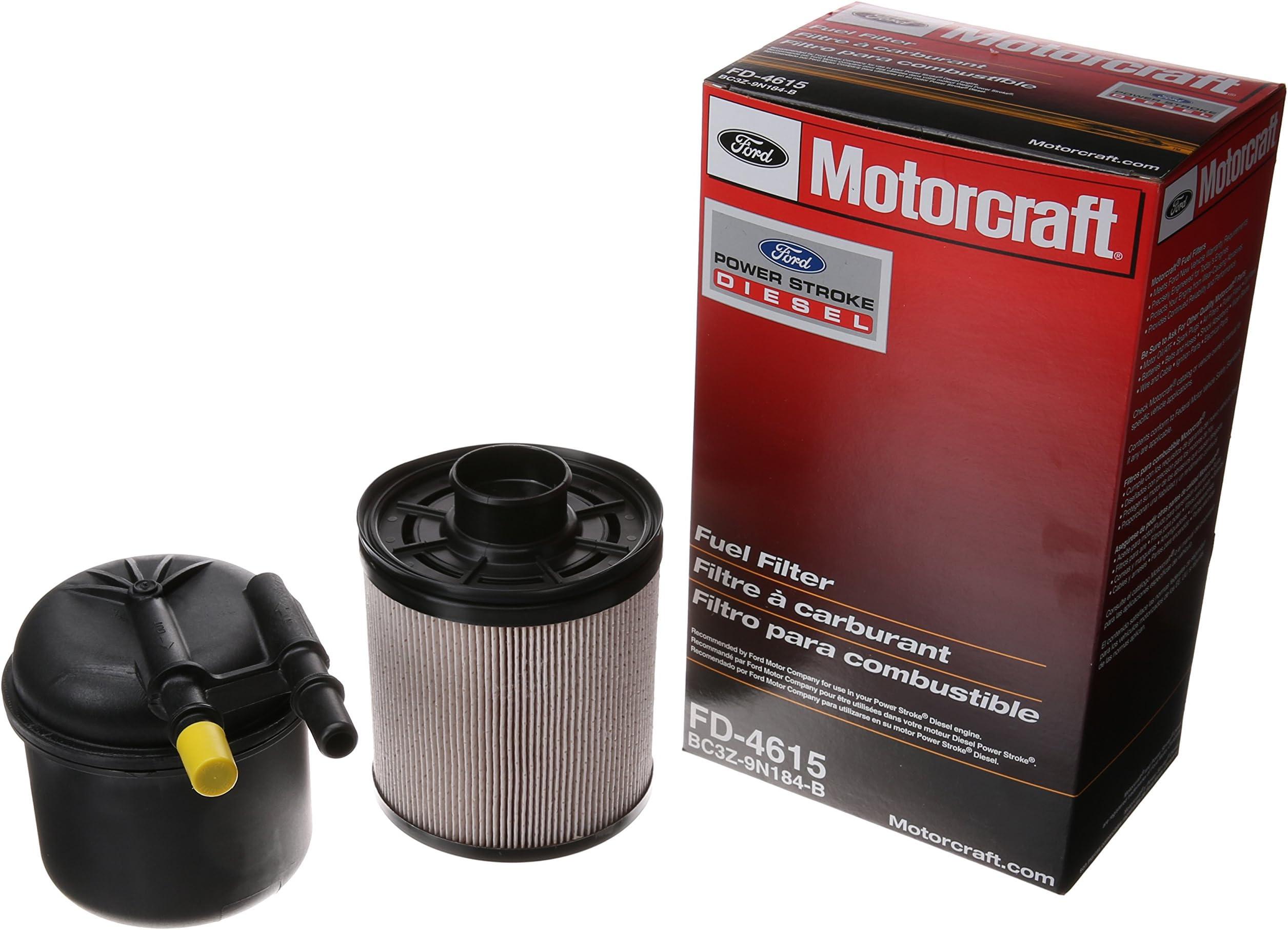 amazon com fuel filters replacement parts automotive  motorcraft fd 4615 fuel filter