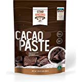 Star Andino Heritage Cacao Paste- Pure & Natural Peruvian Ground Beans, Chocolate, 16 Ounce