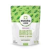 Matcha Love Green Tea Sweetened Powder 8 Ounce Packet (Pack of 1), Sweetened Green Tea Powder