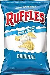 Ruffles, Original Potato Chips Party Size, 13.5 oz