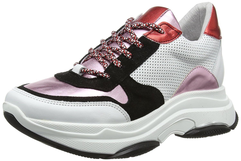 Steve Sneaker Madden Damen Zela-p Sneaker Steve Mehrfarbig (schwarz Multi 010) 46f0ab