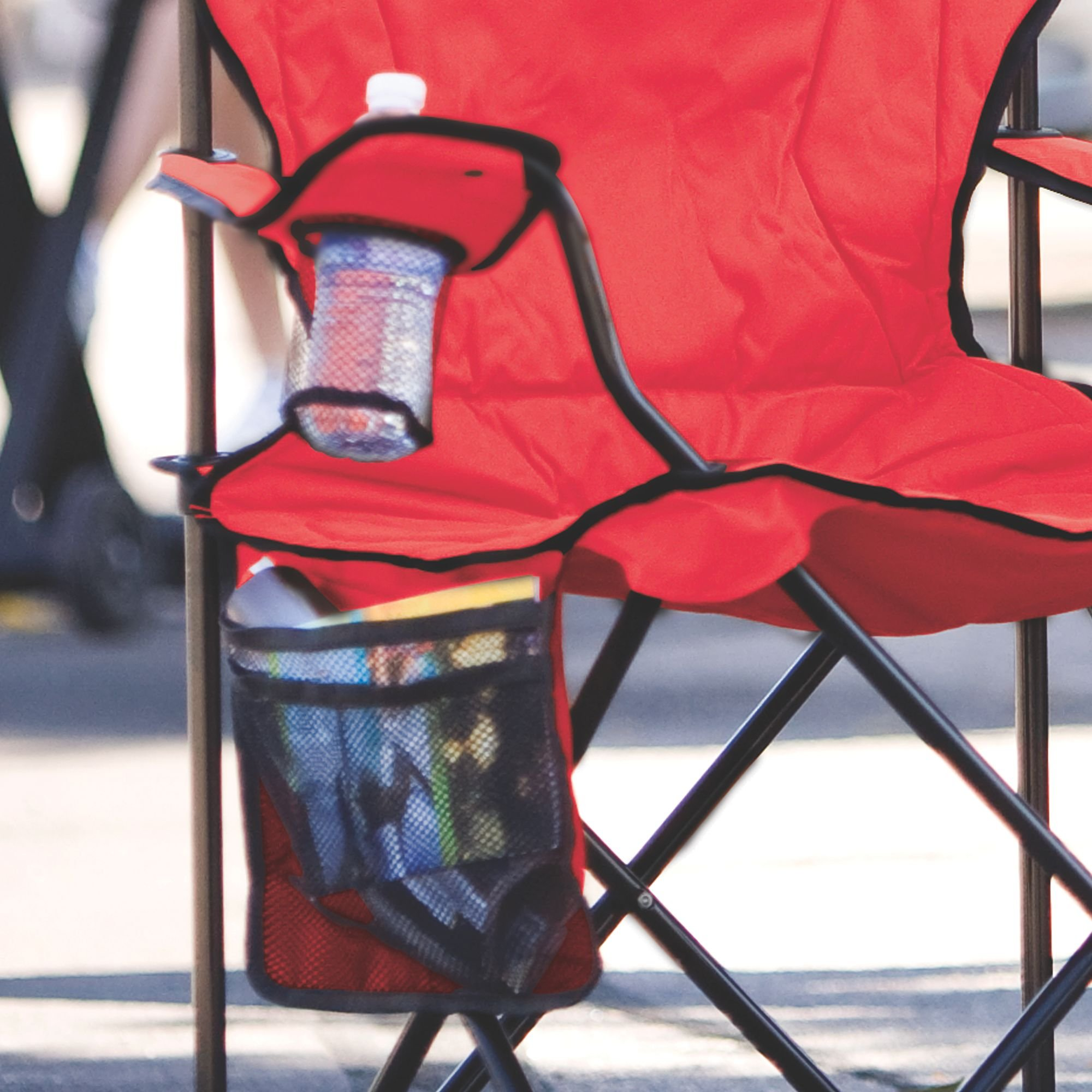 Coleman Oversized Quad Chair With Cooler Cross Counry