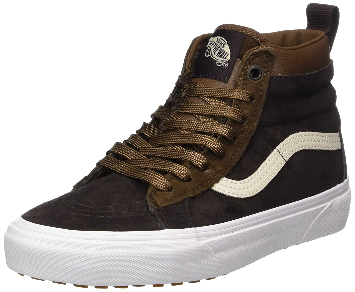 Vans Sk8-Hi MTE, Zapatillas Unisex Adulto 35 EU|Marrón (Mte/ Dark Earth/Seal Brown)