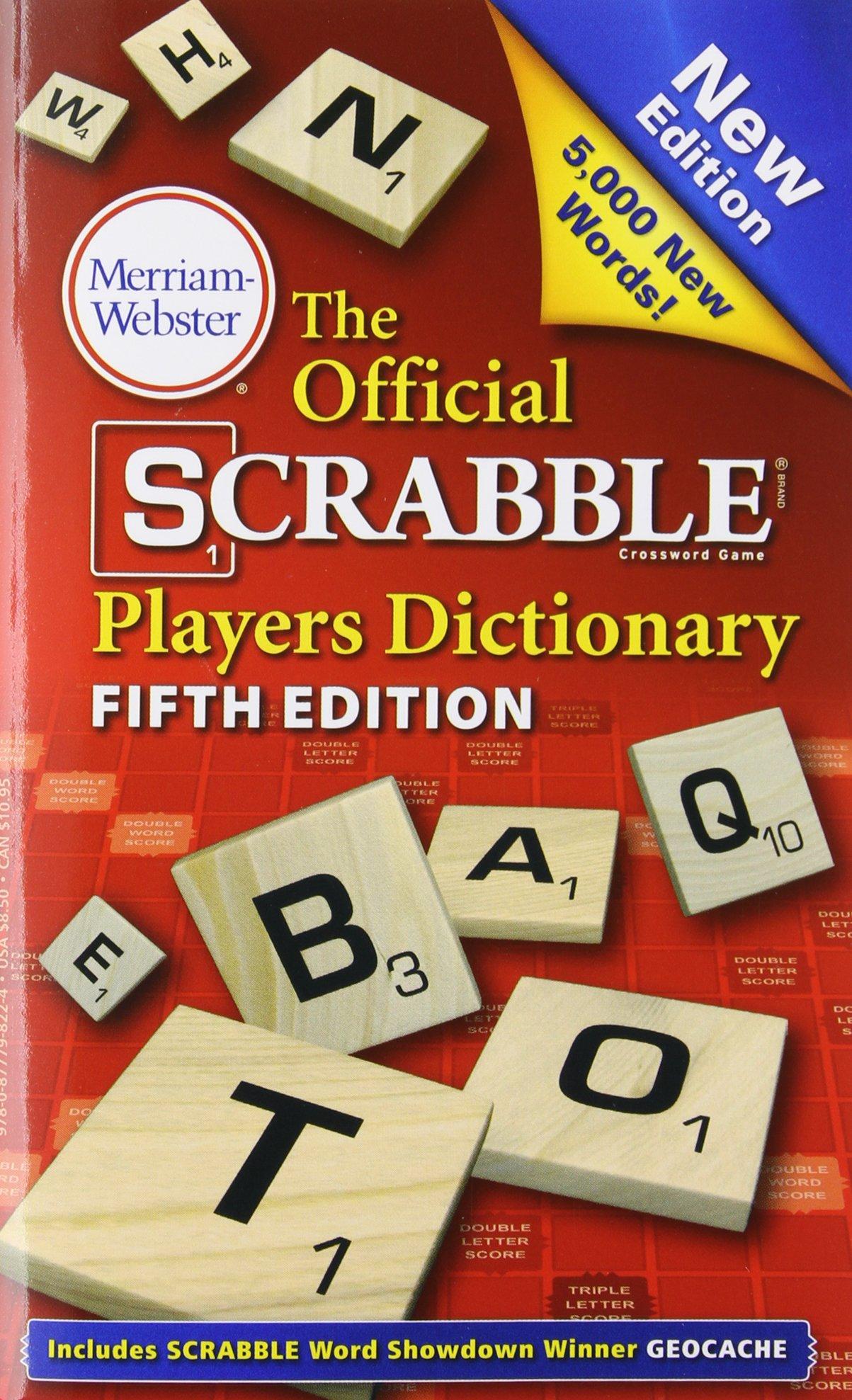 The Official Scrabble Players Dictionary, Fifth Edition: Amazon.es: Merriam-Webster: Libros en idiomas extranjeros