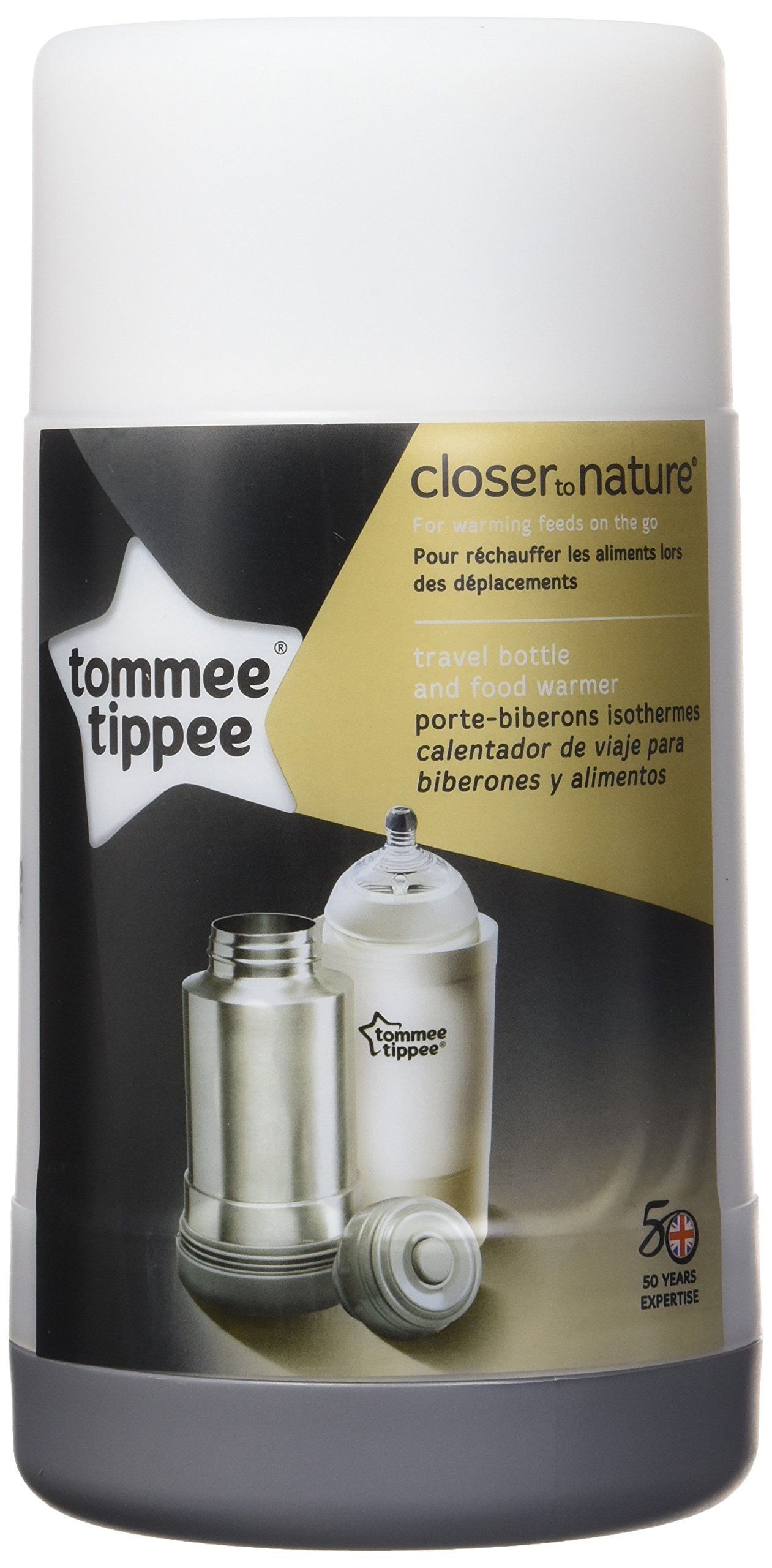 Tommee Tippee Closer to Nature Portable Travel Food and Baby Bottle Warmer