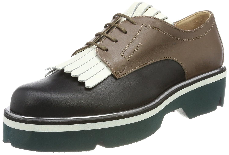 Pollini W.Shoe, Scarpe Stringate Derby Donna  Multicolore