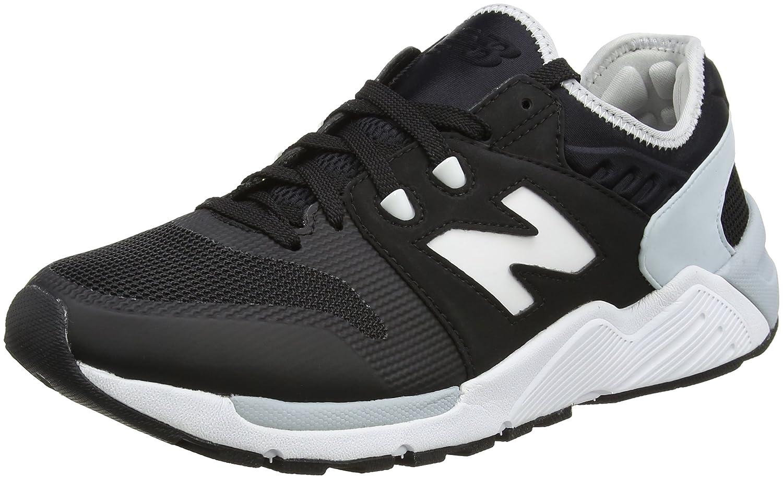 New Balance 009, Zapatillas para Hombre 42.5 EU|Negro (Black/White)
