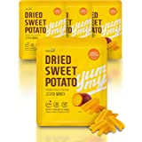 Dried Sweet Potato Snack Bag [ Korean Snacks ] Soft + Chewy Vegan Snacks, Fat and Dairy Free, Roasted Flavor [ JRND Foods ] F