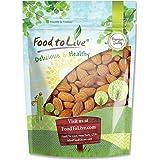 California Almonds, 2 Pounds — Non-GMO Verified, Supreme, Whole, Raw, Unsalted, Unroasted Nuts, Natural. Kosher, Vegan. Keto,