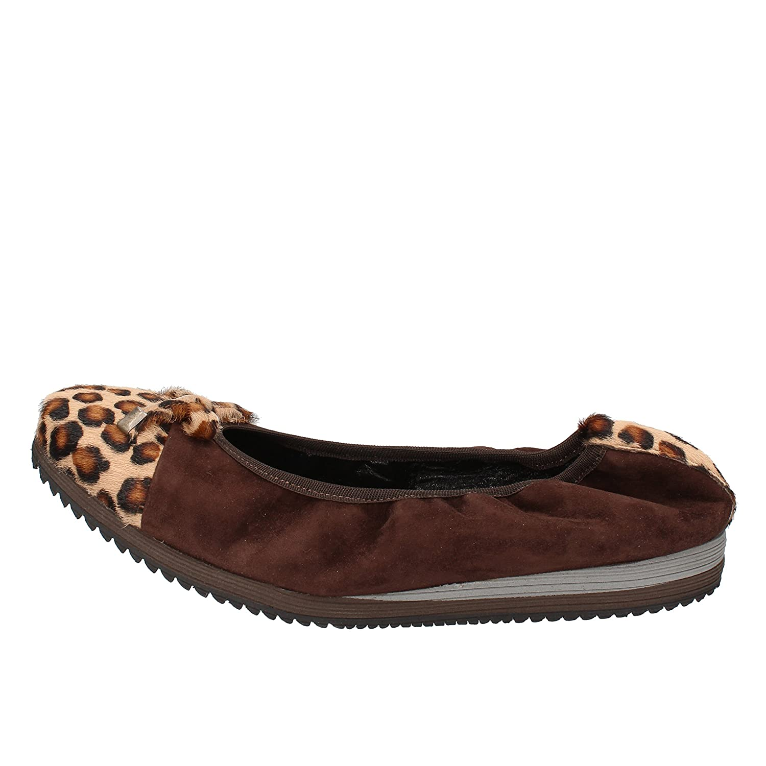 - CALPIERRE Flats-shoes Womens Suede Brown