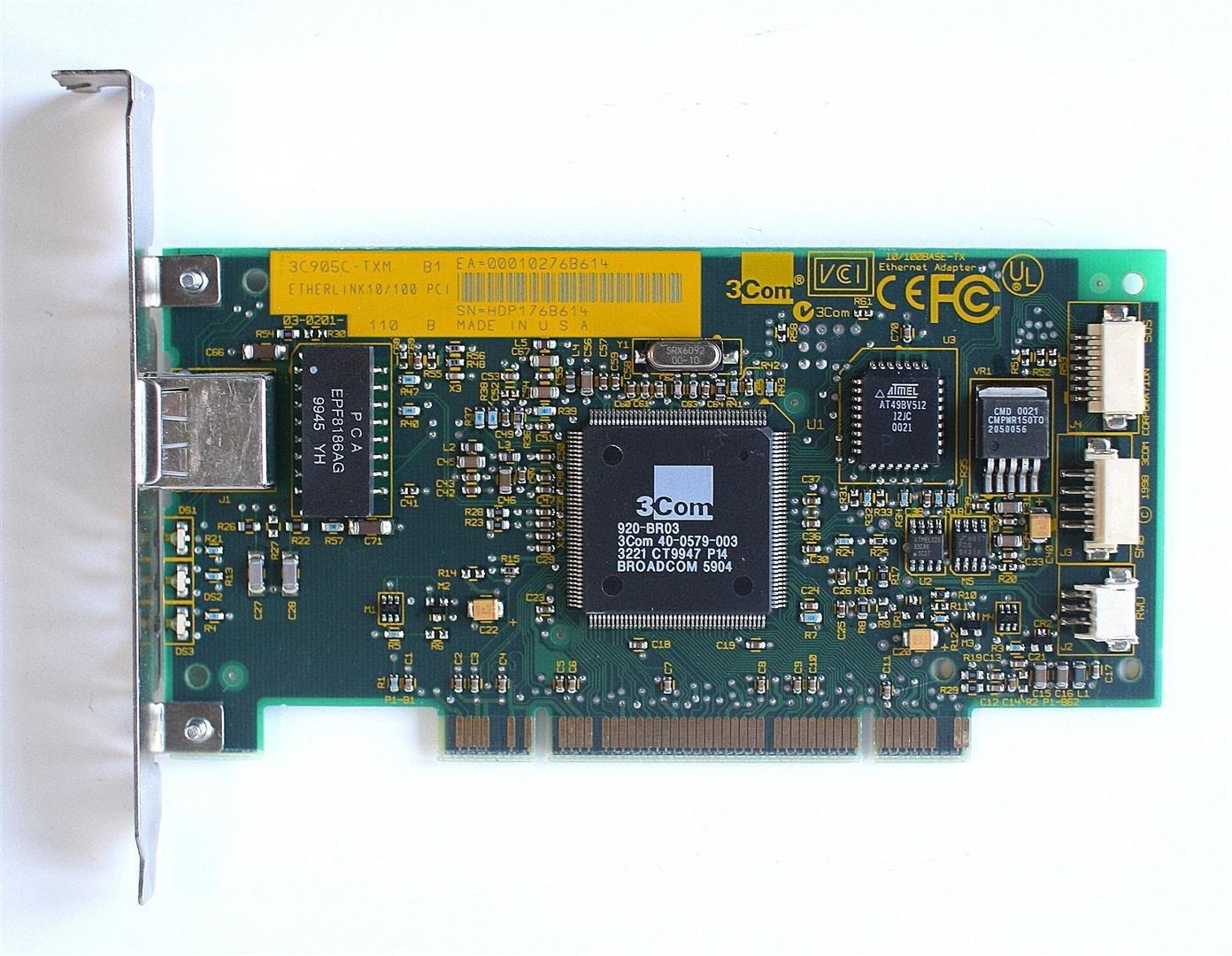 3C905C-TXM ETHERLINK 10 100 PCI 64BIT DRIVER