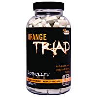 Controlled Labs Orange Triad:: Multivitamin, Joint, Digestion, And Immune, 270-Count...