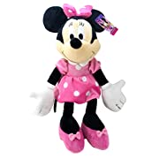 Jay Franco Minnie Mouse Plush Stuffed Pillow Buddy-Kids Super Soft Polyester Microfiber, 21 inch (Official Disney Product), E