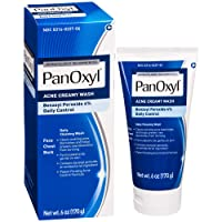 PanOxyl Antimicrobial Acne Foaming Wash, 4% Benzoyl Peroxide, 6 Ounce