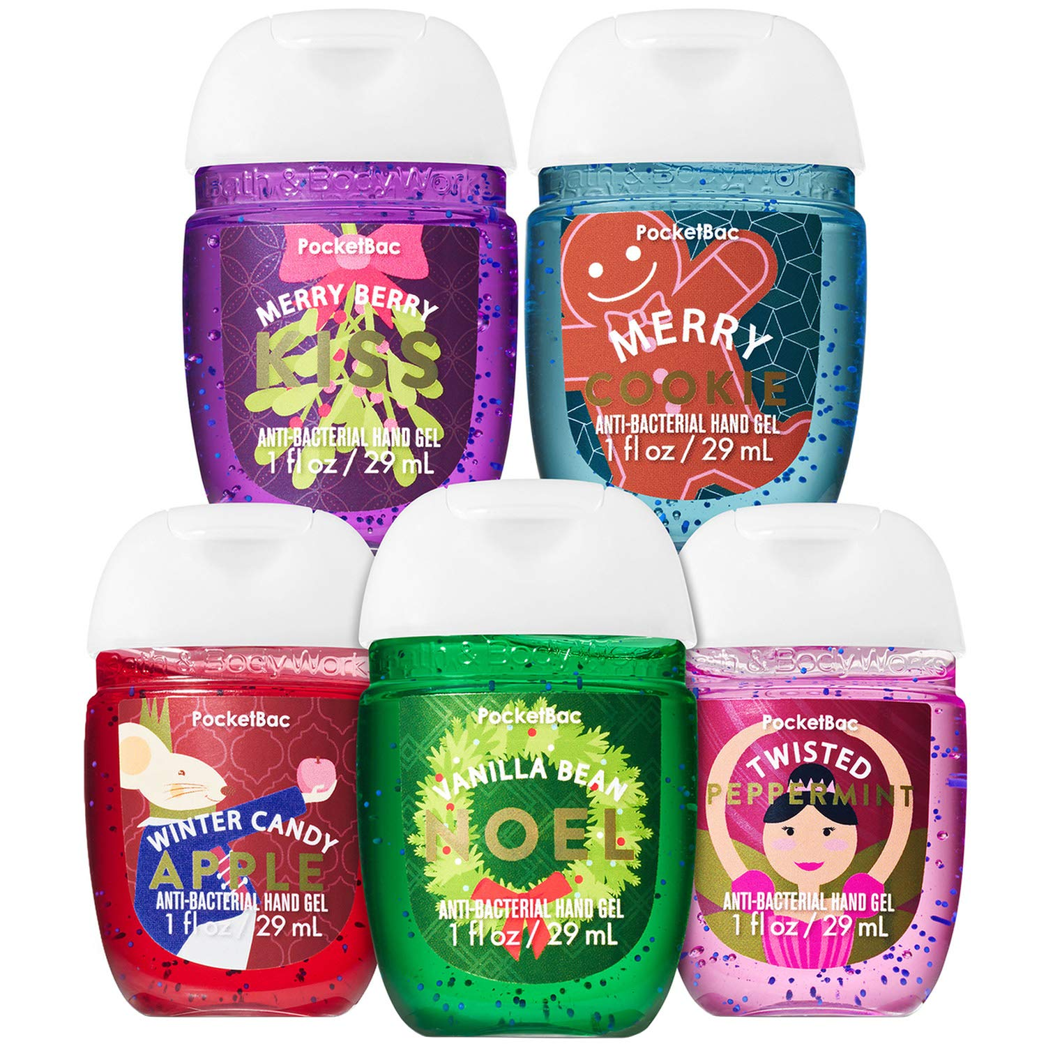 Amazon.com : Bath And Body Works COCOA CAFE 5-Pack