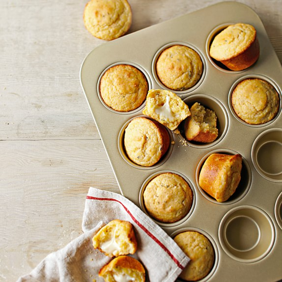 Williams-Sonoma​ Goldtouch® Nonstick Muffin Pan, 12-Well | Williams-Sonoma​