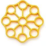 OXO Good Grips Silicone Egg Rack,Yellow,One Size